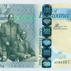 Botswana - 100 Pula 2012 - UNC - bancnota africa