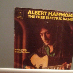 ALBERT HAMMOND - THE FREE ELECTRIC..(1973/EPIC/W. Germany) - disc VINIL Single/ - Muzica Rock Epic rec
