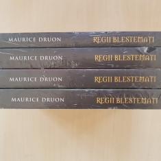 REGII BLESTEMATI - Maurice Druon (vol. 4-7) - Roman istoric
