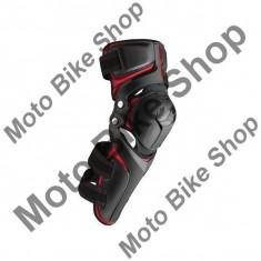 MBS Protectii genunchi Evs Epic, negru/rosu, L/XL, Cod Produs: EPICLXLAU - Protectii moto