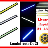 Set DRL Lumini de Zi Universale Rezistenta la Apa si Praf - Lumina Led Ceata