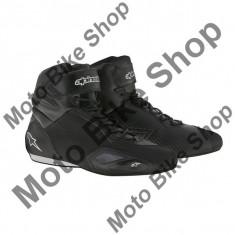 MBS Ghete moto Alpinestars Faster 2, negru, 9=42, Cod Produs: 2510216109AU