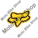 MBS FOX AUFKLEBER FOX HEAD, yellow, 10.6 cm, Cod Produs: 14422005000AU