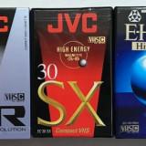 Casete Video VHS-C - TDK / JVC / BASF