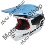 MBS Casca motocross Scott 350 Pro Race, albastru/portocaliu, L, Cod Produs: 2405541454LAU