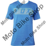 MBS FOX T-SHIRT MOTH DOTS TECH, heather blue, L, Cod Produs: 19268522LAU, Maneca scurta