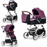 Carucior Optimo 3 in 1 Purple - Carucior copii 2 in 1