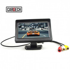 Monitor LCD 4.3 inch Cartech P431 - Camera mers inapoi