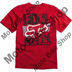 MBS FOX KINDER T-SHIRT DATA OVERLOAD, red, KL=9-10 Jahre, Cod Produs: 09067003LAU
