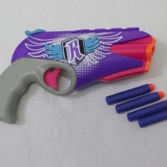 Pistol jucarie NERF Rebelle + 4 cartuse - Pistol de jucarie Hasbro, Plastic, Unisex
