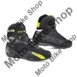MBS TCX MOTORRADSCHUH RUSH WATERPROOF, schwarz-gelb fluo, 44, Cod Produs: XS9505WYEFL44AU
