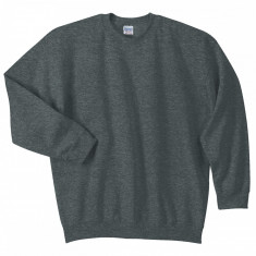 Tricou bumbac mineca lunga Gri Inchis 4 XL GILDAN USA - Tricou XXXL
