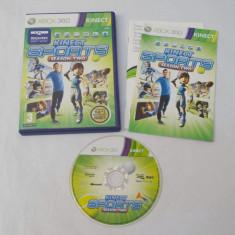 Joc Xbox 360 Kinect - Kinect Sports Season Two - PAL - Jocuri Xbox 360, Sporturi, Toate varstele, Single player