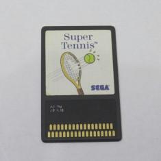 Joc SEGA Master System 1 - Super Tennis - Jocuri Sega, Sporturi, Toate varstele, Single player