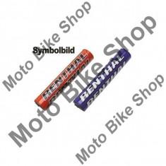 MBS Protectie ghidon Renthal 22Mm Superx Pad, albastru, Cod Produs: REP212AU - Protectie ghidon Moto