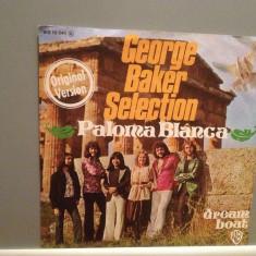 GEORGE BAKER SELECTION - PALOMA BLANCA (1975/WARNER/W. Germany) -  VINIL Single/