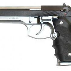 Replica KJW M9 A tactical grip arma airsoft pusca pistol aer comprimat sniper shotgun