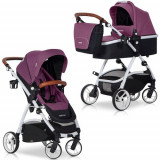 Carucior Optimo 2 in 1 Purple - Carucior copii 2 in 1