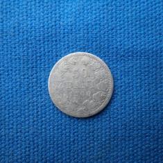 50 BANI 1900 - Moneda Romania, Argint