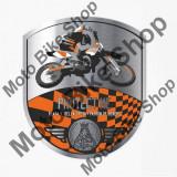 MBS PATRONINT AUFKLEBER CROSS BIKE SW/OR, Cod Produs: 307710AU