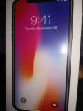 IPhone X, Negru, 256GB
