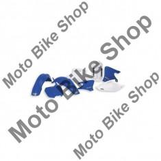 MBS Plastic numar fata UFO, Yamaha YZ125+250/00-05 = YZF250-450/00-05, alb, Cod Produs: UF3823046AU - Suport numar moto
