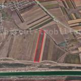 Vanzare teren extravilan 30960 mp situat pe malul canalului