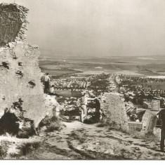 (A) carte postala(ilustrata)-DEVA -vedere de la Cetate - Carte Postala Banat dupa 1918, Circulata, Fotografie
