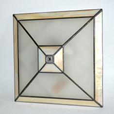 Plafoniera sau aplica de perete - in stil Tiffany - Corp de iluminat, Aplice
