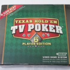 Consola TV joc Texas Hold'em TV POKER pentru 6 jucatori