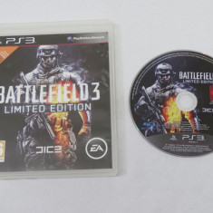 Joc Sony Playstation 3 PS3 - Battlefield 3 Limited Edition, Shooting, 16+, Single player, Ea Games