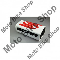 MBS SCAR LENKERPOLSTER 3D, weiss, Cod Produs: SMSOWAU - Protectie ghidon Moto