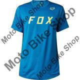 MBS FOX T-SHIRT FLEXAIR MOTH TECH, maui blue, M, Cod Produs: 18850551MAU, Maneca scurta