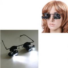 Lupa ceasornicar ochelari 20x lupa ochelari lupa 20x lupa reparatii CEASORNICAR