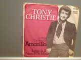 TONY CHRISTIE - AMARILO/LOVE IS A ..(1970/MCA/W. Germany) - disc VINIL Single/, MCA rec