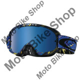 MBS OAKLEY MX BRILLE O2 RAIN OF TERROR PURPLE BLUE, blau-lila, black ice iridium + klar, Cod Produs: 706814AU