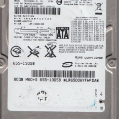 HDD Fujitsu 80GB SATA 2.5 HV2080BH - HDD laptop