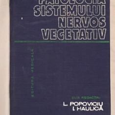 Patologia sistemului nervos vegetativ, autori Liviu Popoviciu, I Haulica 1982