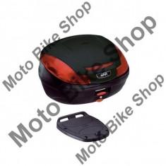 MBS GIVI TOPCASE E470 SIMPLY III, schwarz, 47 liter, Cod Produs: E470NAU - Top case - cutii Moto