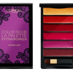 Paleta Pentru Buze L'Oreal Color Riche La Palette Extravaganza - Ruj