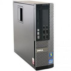 Calculator Refurbished Dell OptiPlex 990 SFF, Intel Core i7-2600 3100Mhz, 4GB Ram DDR3, Hard Disk 500GB S-ATA, DVD - Sisteme desktop fara monitor