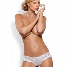 Chilot Julitta Obsessive - chilot alb chilot tanga chilot dama chilot sexy, Din imagine, L/XL, S/M