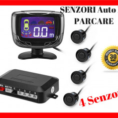 Senzori Auto De Parcare cu Ecran LED  si Semnal Acustic - Buzzer