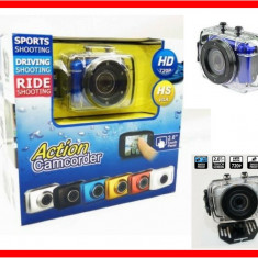 Camera Video Sport Subacvatica Action Camcorder Hd 720p
