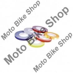 MBS FELGENDEKOR 5MM REFLEKTIEREND, weiss, 5MM, Cod Produs: D2828230AU - Rim streaps - benzi jante Moto