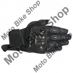 MBS Manusi piele Alpinestars Spx Air Carbon, negru, L/10, Cod Produs: 356731610LAU