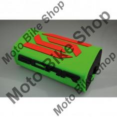 MBS SCAR LENKERPOLSTER 3D, grun-fluo, Cod Produs: SMSOGAU - Protectie ghidon Moto
