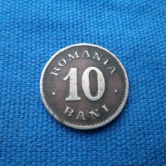 10 BANI 1900 - Moneda Romania, Nichel