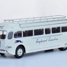Macheta autobuz Ford Greyhound Super Coach 1937 scara 1:43