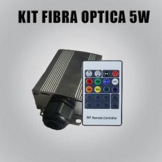 Kit de iluminat auto cu fibra optica, 5W, cod: 10105512